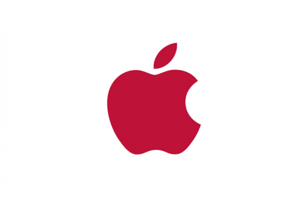 RED logo Forrás: apple.com