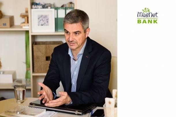 Molnár Csaba, Közösségfejlesztési igazgató - MagNet Bank Forrás: zöldunió