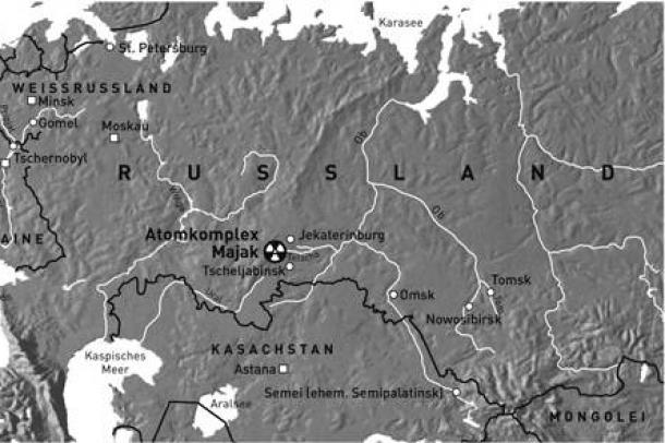 """csernobil térkép Majak, az """"első Csernobil""""   Ecolounge csernobil térkép"""