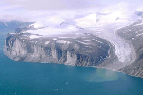 Gleccser a Baffin szigeten 1997-ben (illusztráció) Forrás: commons.wikimedia.org Szerző: Ansgar Walk