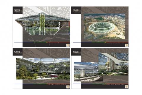 Az Öko város tervei Forrás: eyakutia.com
